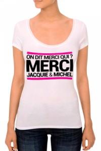 T-shirt Jacquie et Michel Femme n°3 Jacquie & Michel