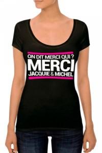 T-shirt Femme Jacquie et Michel N°4 Jacquie & Michel