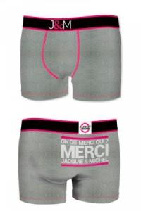 Boxer Jacquie et Michel Gris