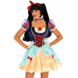 Costume Blanche Neige Sexy Luxe