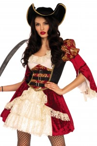 Costume Luxe Femme Pirate Sexy