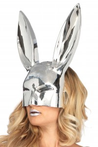 Masque Lapin Chrome
