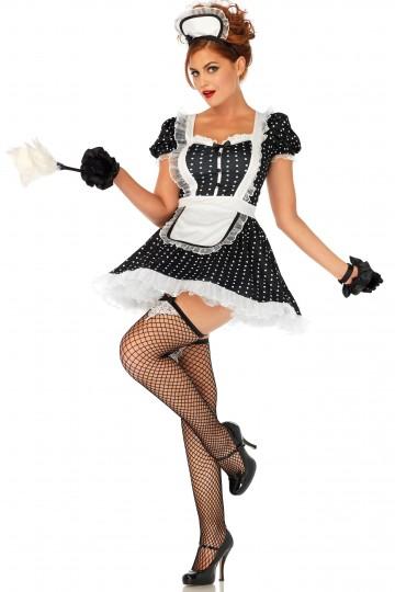 Costume Femme de Chambre Soubrette Sexy