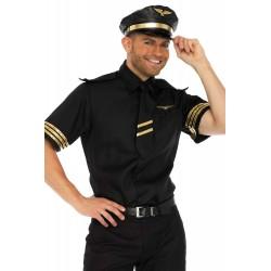 Costume Pilote Commandant de Bord