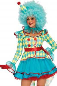 Costume Carnaval Clown Sexy Luxe