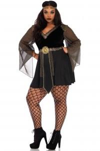 Costume Femme Gladiateur Guerrière Grande Taille