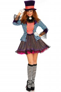 Costume Sexy Mad Hatter Leg Avenue