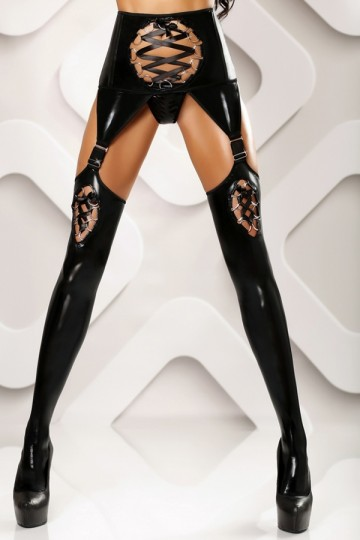 Porte Jarretelles Collants Ouverts Fetish Horny Lolitta