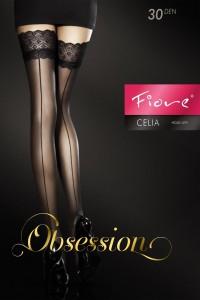 Bas Autofixant Couture Rouge Celia Fiore