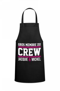 Tablier Cuisine Jacquie & Michel Crew
