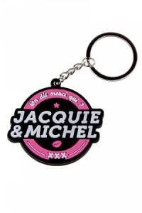Porte-clés Jacquie & Michel Logo Rond