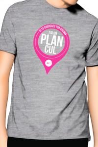 T-Shirt Gris j'ai un Plan Cul Jacquie et Michel