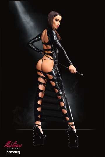Robe Longue Fesses Nues Mistress Dorothea DemoniQ