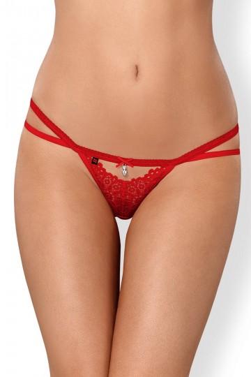String Bijoux Strappy Rouge