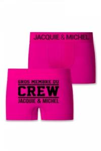 Boxer Rose Jacquie et Michel Crew Jacquie & Michel