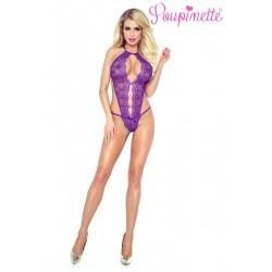 Body Violet Purple Séduction Poupinette Provocative