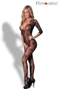 Combinaison Bodystocking Ouverte Entrecuisses Provocative