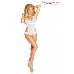 L'Eternelle Body Ouvert Blanc by Provocative