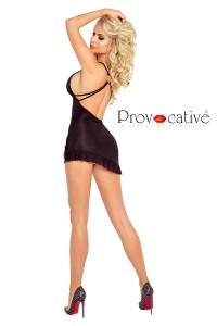 Mini Robe Lingerie Noire Provocative Provocative