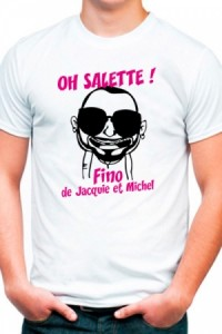 Tee Shirt Fino Jacquie et Michel