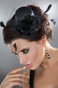 Mini Chapeau Fleur Duvet Livco Corsetti IM#49702