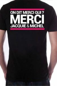 T Shirt Homme Officiel Jacquie et Michel N°7