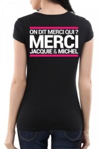 Tee-shirt Femme Jacquie & Michel