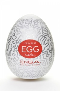 Masturbateur Homme Oeuf Design Egg PARTY by Keith Haring & Tenga