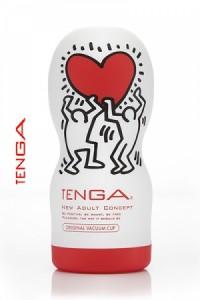Mastubateur Tenga Original Vacuum by Keith Haring
