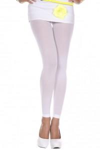 Legging Blanc Fin Opaque Music Legs