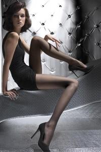 Collants Classiques Noir Lili Fiore Fiore