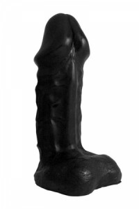 Gode Géant XXL 33 Cm War Head Black Domestic Partner IM#69460