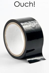 Ruban Bondage Noir 20 Mètres