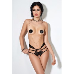 String Ouvert Dentelle Multi Strappy