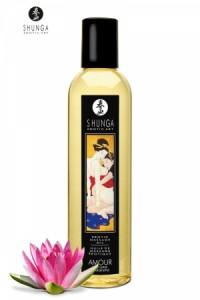Huile de Massage Erotique Coeur de Lotus Shunga