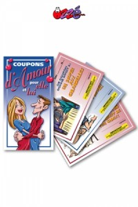 Carnets Coupons d'Amour