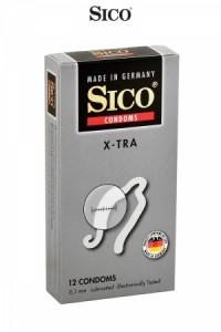 Préservatifs Sico X-TRA x12 Sico