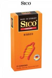 Préservatifs Sico RIBBED x12 Sico