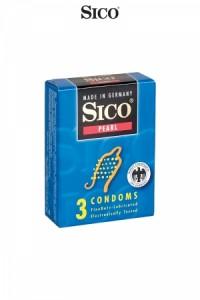 Préservatifs Sico PEARL x3 Sico