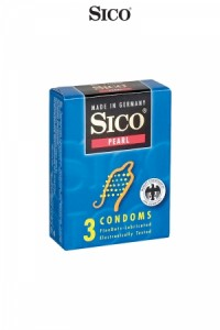 Préservatifs Sico PEARL x3 Sico IM#73433