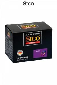 Préservatifs Sico COLOUR x50 Sico
