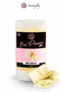 Lubrifiant Comestible Chocolat Blanc Secret Play IM#73493