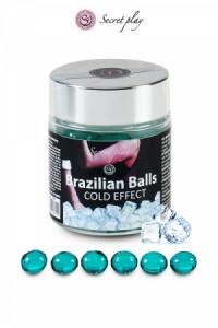 Boules Brésiliennes Effet Froid par 6 Brazilian Balls