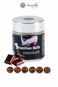 Boules Brésiliennes Chocolat par 6 Brazilian Balls