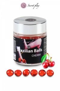 Boules Brésiliennes Cerise par 6 Brazilian Balls