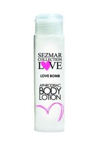 Crème de Corps Hydratante Aphrodisiaque Love Bomb 50ml Sezmar IM#75065