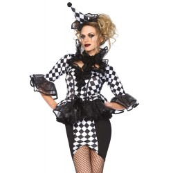 Costume TAILLE S Femme Arlequin Chic & Sexy