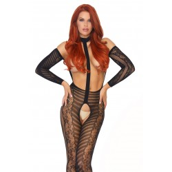 Combi Bodystocking Harnais Réversible 2 en 1