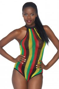 Body Couleurs Rasta Leg Avenue
