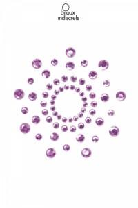 Bijoux de Seins Nipples Tétons Perles violets Bijoux Indiscrets